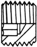 STEEL ADAPTER HEX SOCKET PRESSURE PIPE PLUG