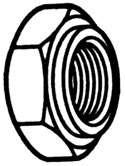 STEELADAPTER PRESSURE SEALING PIPE LOCK NUT