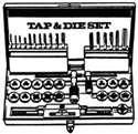 TAP/DIE SETS HI-SPEED & CARBON
