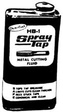HB1 SPRAY TAP CUTTING  FLUID