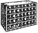 PIGEON HOLE CAP SCREW/SOCKET CAP ASSORTMENTS